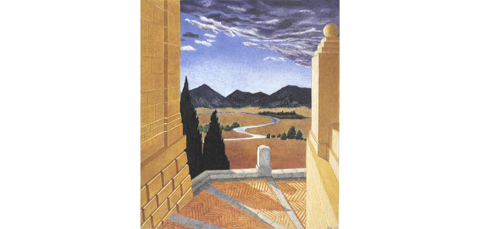 Italian Landscape, 1984