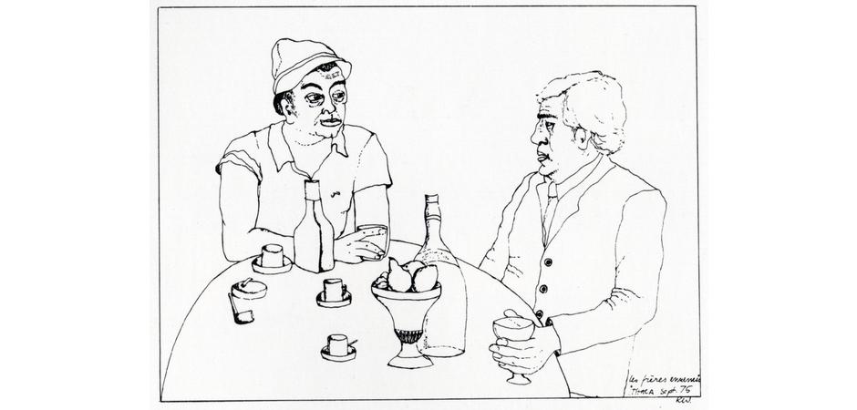 Les Frères Ennemis, 1975
